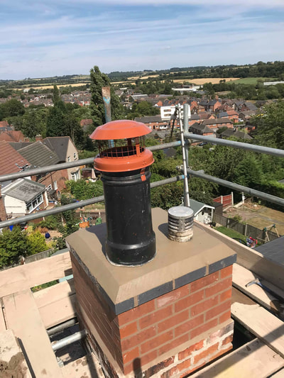 Chimney Rebuild In Ilkeston