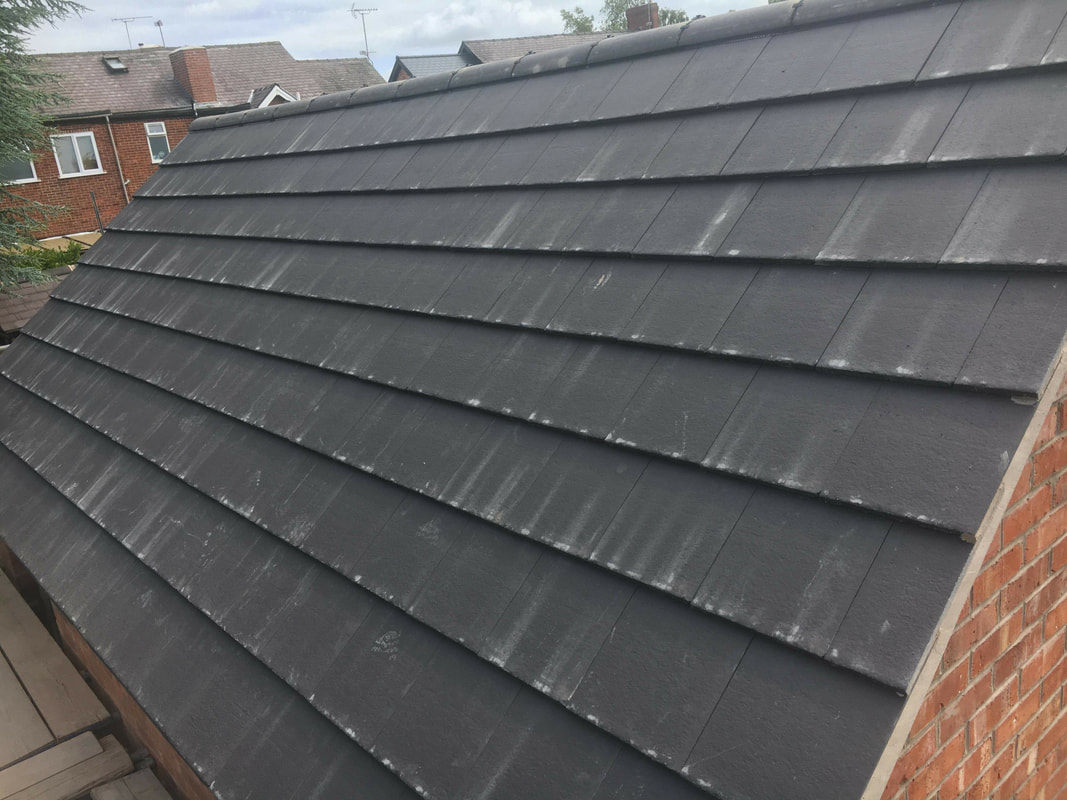 Replacement Garage Roof in Ilkeston