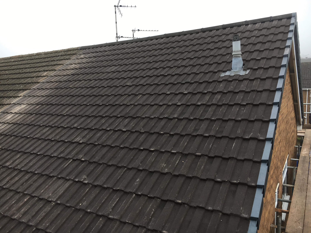 Tiled Roof in Heanor