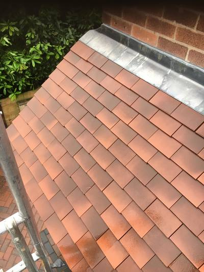 Tiled roof Nottingham